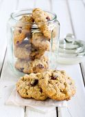 pic of oats  - Oat cranberry wholemeal cookies with white chocolate - JPG