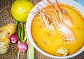 foto of thai food  - Tom Yum Kung - JPG