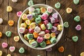 picture of conversation  - Colorful Candy Conversation Hearts for Valentine - JPG