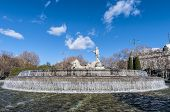 image of neoclassical  - Fountain of Neptune  - JPG