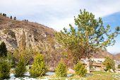 pic of shan  - Nature near Ski resort Tien Shan Mountains in Almaty KazakhstanAsia at summer - JPG