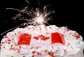 Постер, плакат: Канада торт 16