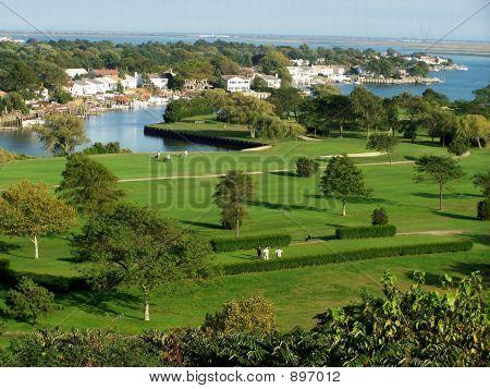 Golf Course Merrick Long Island New York