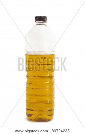 Olive Oil In A Plastic Bottle