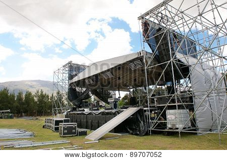 Outdoor Festival Concert Main Stage