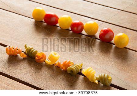 Pasta and Cherry Tomatoes