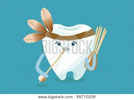 Toothpick of indian