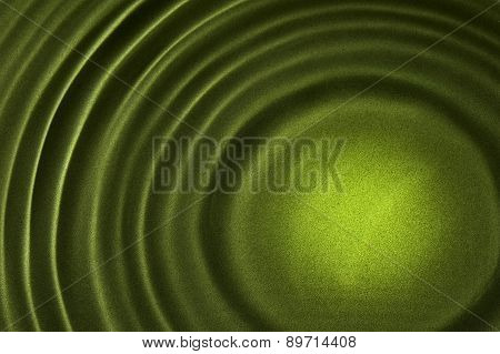 Green Watery Rippled Background