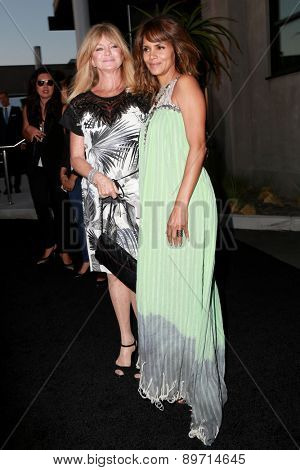 LOS ANGELES - MAY 2:  Goldie Hawn, Halle Berry at the 3rd Annual Mattel Children's Hospital Kaleidoscope Ball at the 3Labs on May 2, 2015 in Culver City, CA