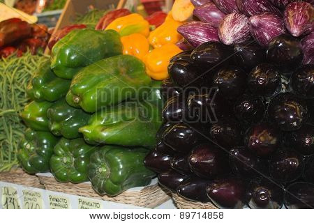 Squash and other vegetables