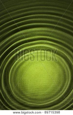 Vertical Green Ripple Background