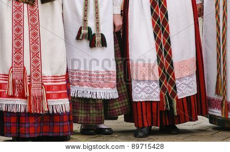 Lithianian Traditional Dresses