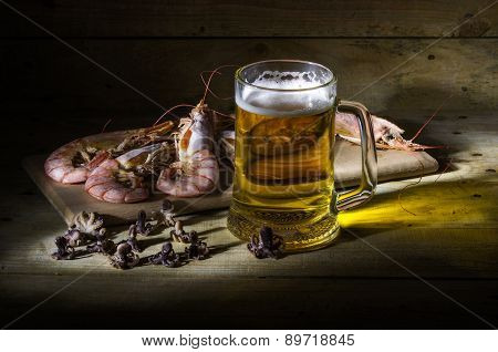 Beer With Shrimp