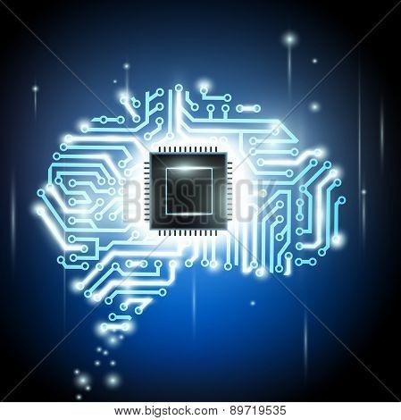 Human Brain As A Computer Chip