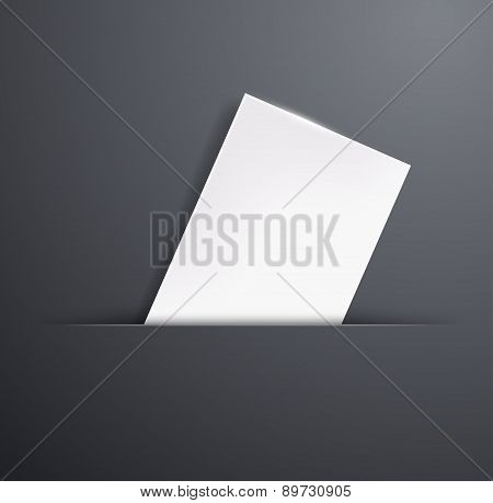 Blank Template Business Card