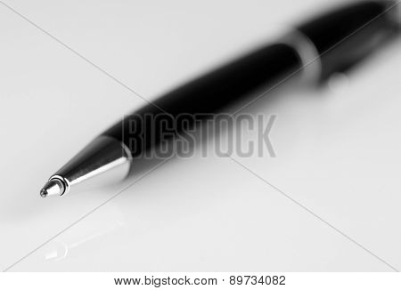 Ballpoint pen isolated on white