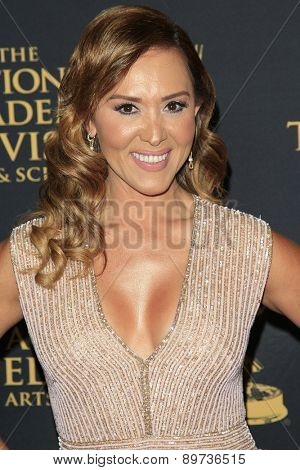 LOS ANGELES - APR 24: Tanya Charry at The 42nd Daytime Creative Arts Emmy Awards Gala at the Universal Hilton Hotel on April 24, 2015 in Los Angeles, California