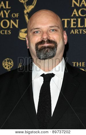 LOS ANGELES - APR 24: Chris Neuhahn at The 42nd Daytime Creative Arts Emmy Awards Gala at the Universal Hilton Hotel on April 24, 2015 in Los Angeles, California