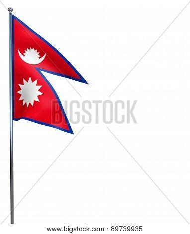 Nepal Flag Image