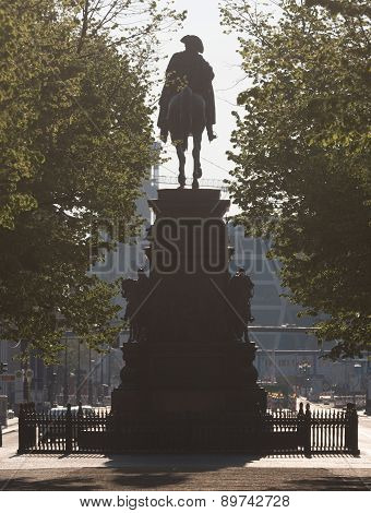 Equestrian Statue Frederick The Great