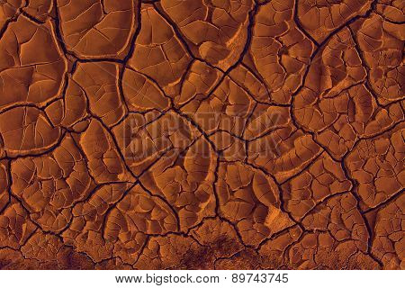 Red-hot Ground Texture