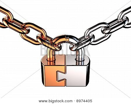 Padlock as puzzle