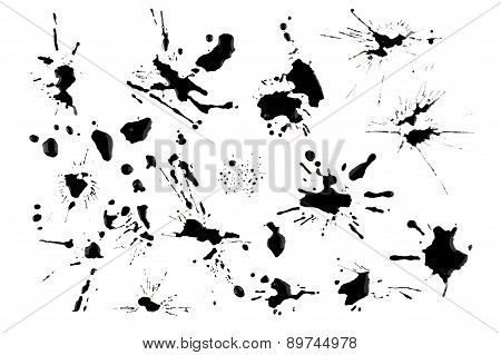 Ink Blots And Splats
