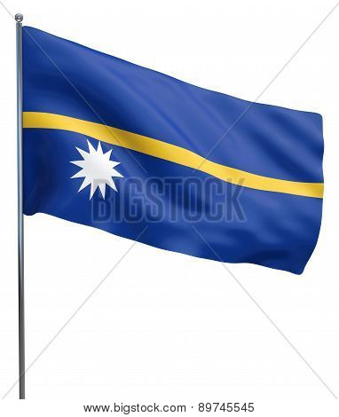 Nauru Flag Image