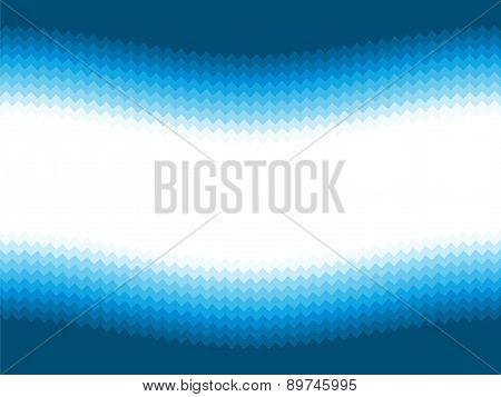 Modern Blue Wavy Background