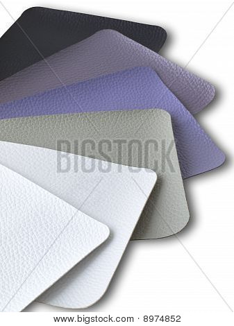 Gray Tone leather color sample