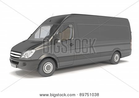 Delivery Van - Black