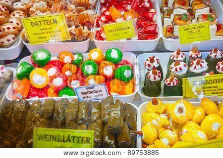 Vegetables Stuffed