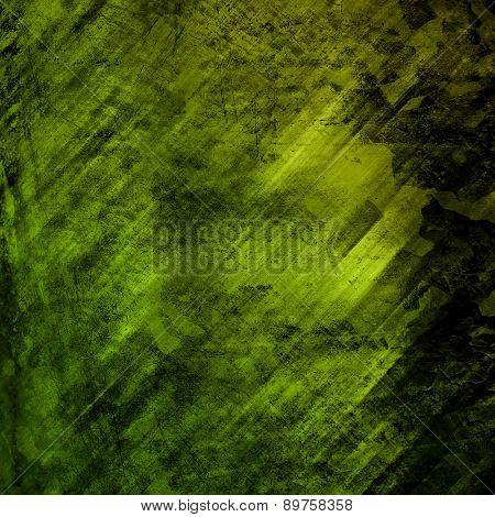 grunge green metal