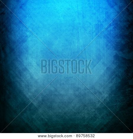 blue metal plate