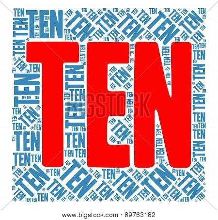 Ten Word Cloud