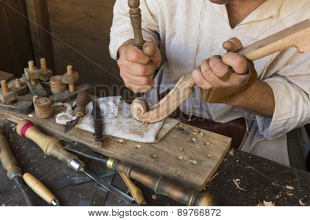 Artisan Who Prepares A Musical Instrument