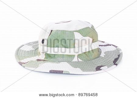 Military Camouflage Hat Desert