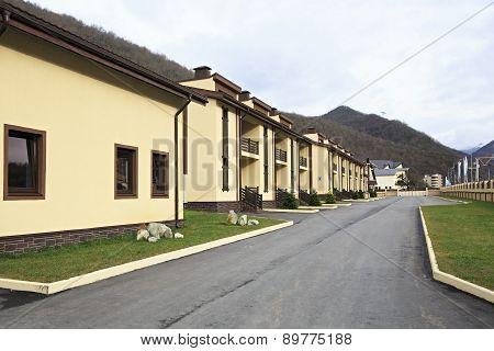 Cottage complex Privilege in Gorky Gorod resort