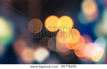 Bokeh Night Life