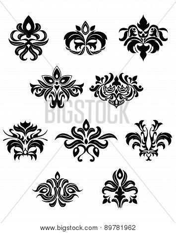 Floral embellishments and design elements