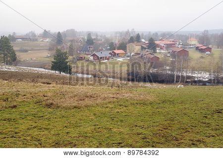 Small Swedish village