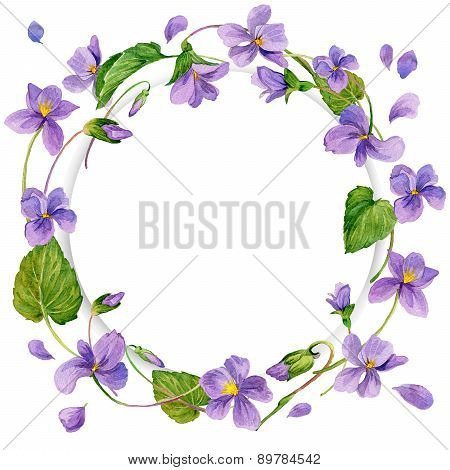 Wreath Of Forest Violet