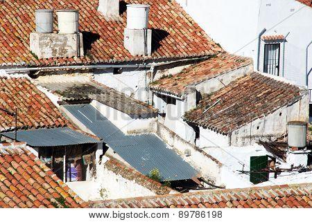 House rooftops, Colmenar.