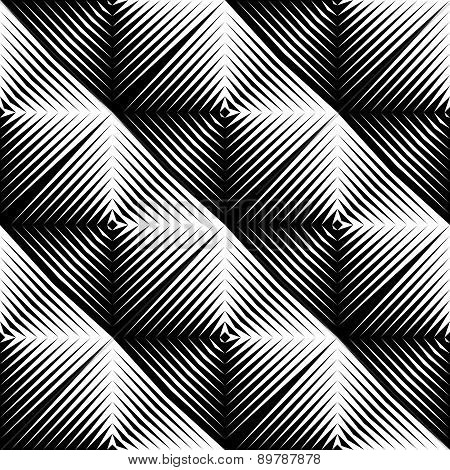 Design Seamless Square Convex Pattern