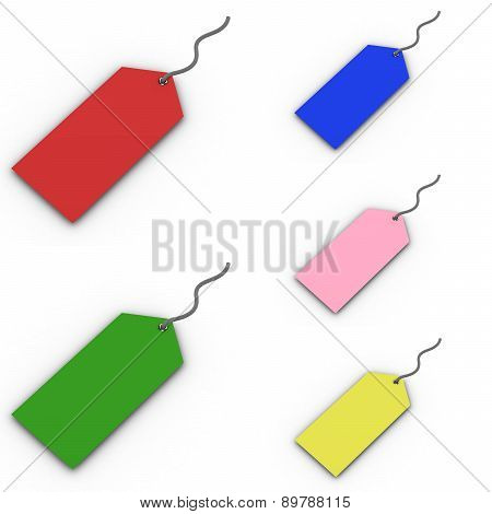 Discount Price Tags.(high Resolution 3D Image)