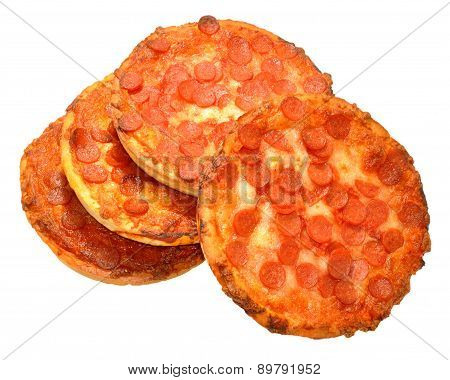 Small Pepperoni Pizzas