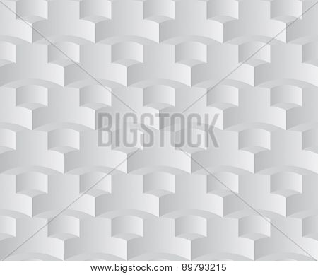 abstract grey squama seamless pattern