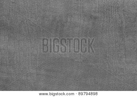 Grained Texture Fabric Of Pale Gray Color