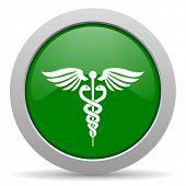 foto of green snake  - emergency green glossy web icon - JPG