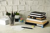pic of coy  - Stylish workplace at home or studio - JPG